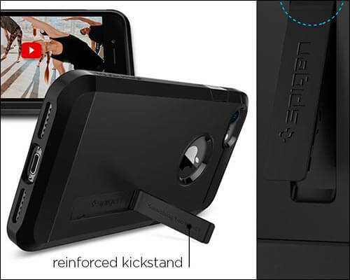 Spigen Tough Armor iPhone 8 Kickstand Case