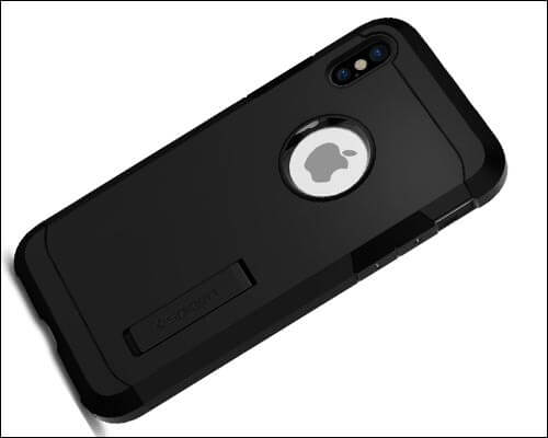Spigen Tough Armor iPhone X Kickstand Case