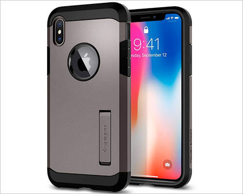 Spigen Tough Armor iPhone Xs Rugged Case