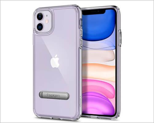 Spigen Transparent Kickstand Case for iPhone 11
