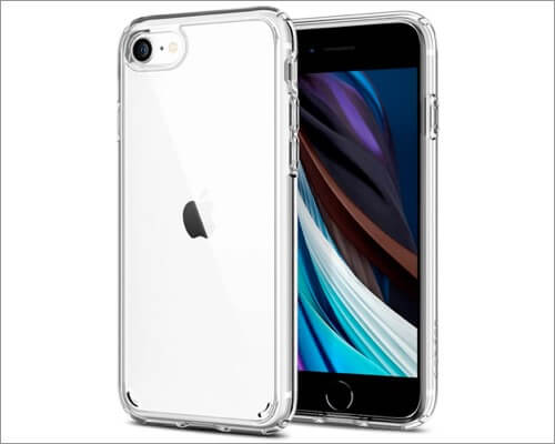 Spigen Ultra Hybrid Drop Protection Clear Case for iPhone SE 2020