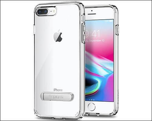 Spigen Ultra Hybrid S iPhone 8 Plus Clear Case