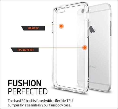 Spigen Ultra Hybrid iPhone 6s Bumper Case