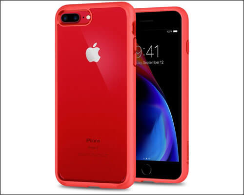 Spigen Ultra Hybrid iPhone 8 Plus Red Case