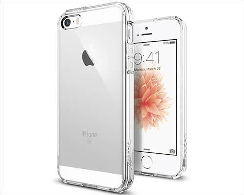 Spigen Ultra Hybrid iPhone SE Clear Case