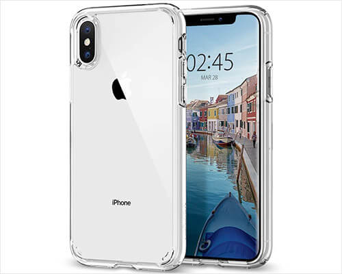 Spigen Ultra Hybrid iPhone Xs Clear Case