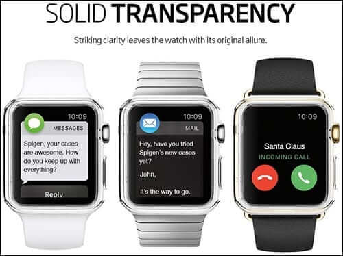 Spigen Ultra-Thin Liquid Crystal Apple Watch Case