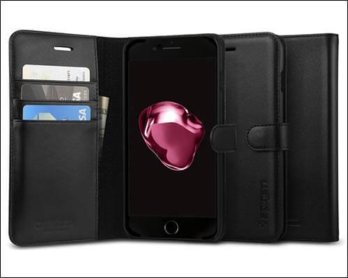 Spigen Valentinus iPhone 8 Plus Wallet Case