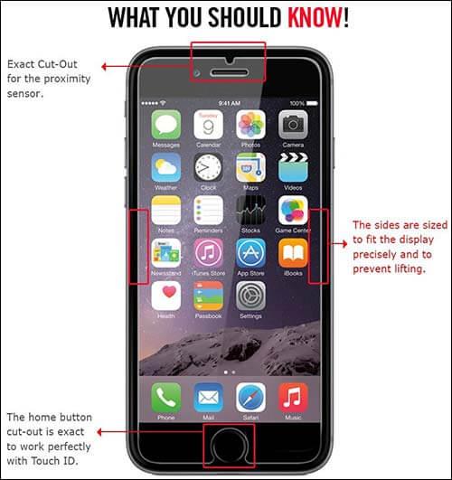 Spigen iPhone 6 Tempered Glass Screen Protector