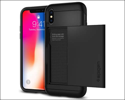 Spigen iPhone X Xs Card Holder Case