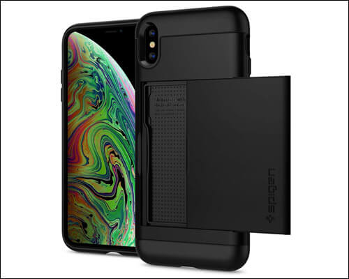 Spigen iPhone Xs Max Card Holder Case