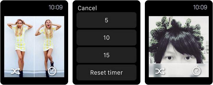 Split Pic Collage Maker Layout Apple Watch App Screenshot