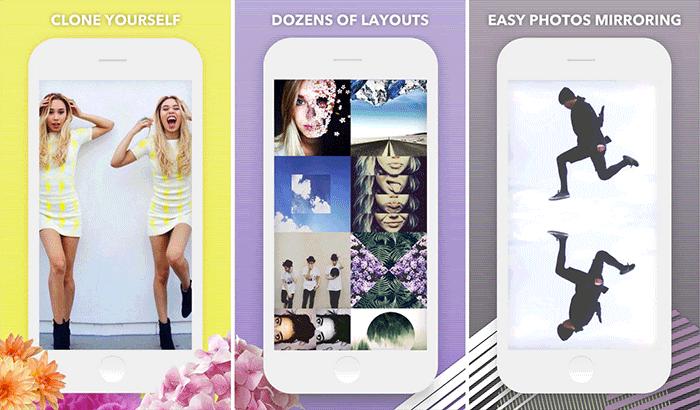 Фильтры и эффекты Split Pic Снимок экрана iPhone и приложения
