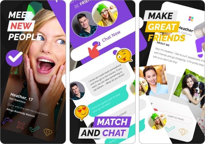 Spotafriend Friendship App for iPhone Screenshot