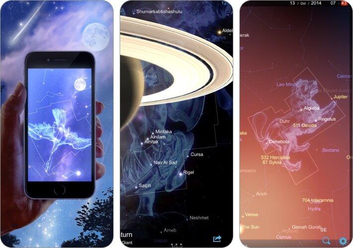 Star Chart stargazing iPhone and iPad screenshot