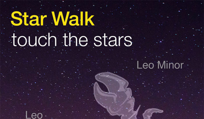 Star walk Educational iPhone Game Screenshot