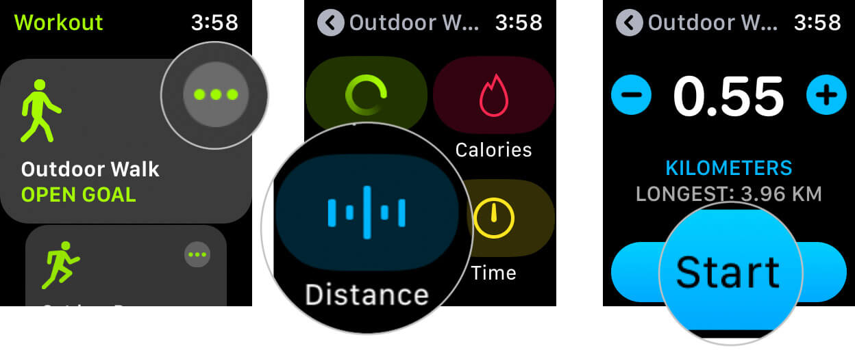 Start Workout Session on Apple Watch