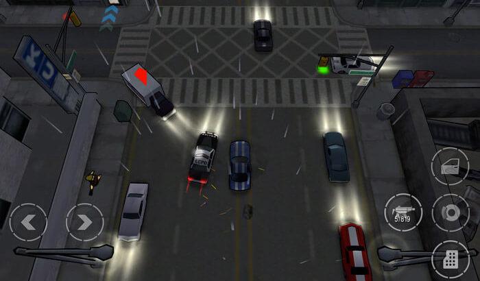 Starting Wars in Chinatown Nintendo DS iPhone and iPad Game Screenshot