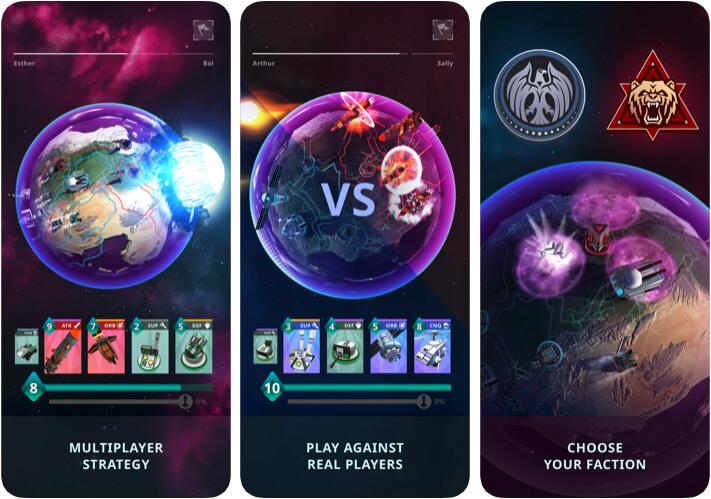 Stellar Commanders Apple Arcade Multiplayer Game