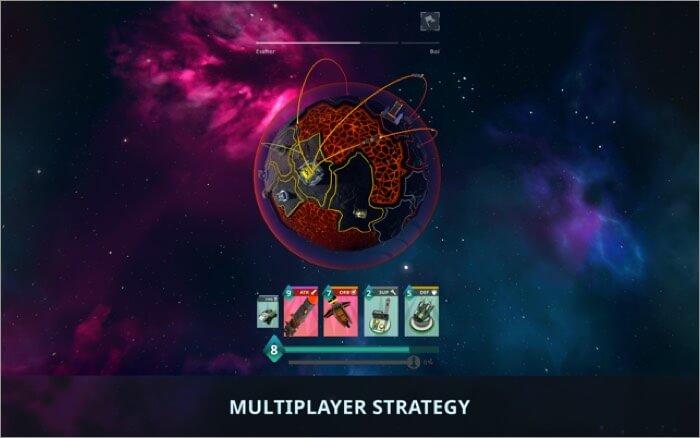 Stellar Commanders Mac strategy game Screenshot