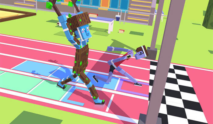 Steppy Pants Weird iPhone Game Screenshot