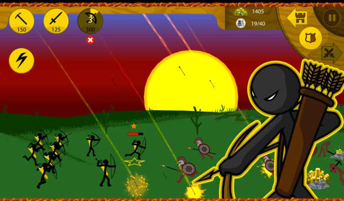 Stick War - Legacy Strategy iPhone and iPad Game Screenshot