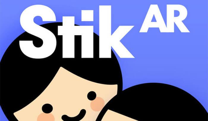 Stik AR iPhone and iPad Game Screenshot