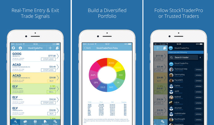 Stock Trader Pro Trading iPhone App Screenshot