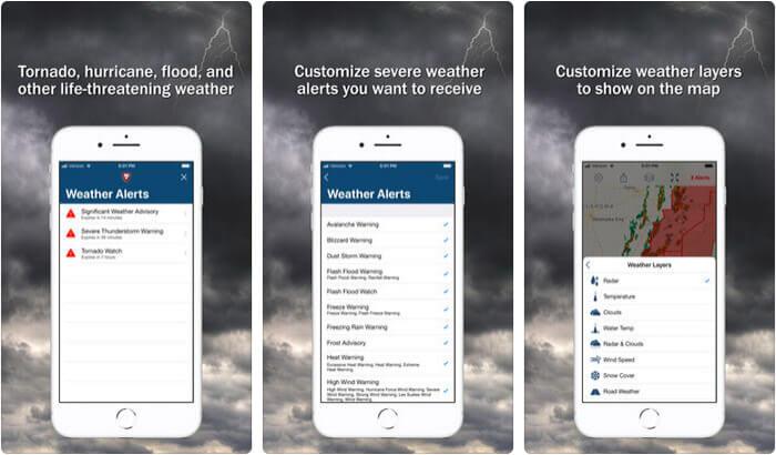 Storm Shield iPhone and iPad App Screenshot