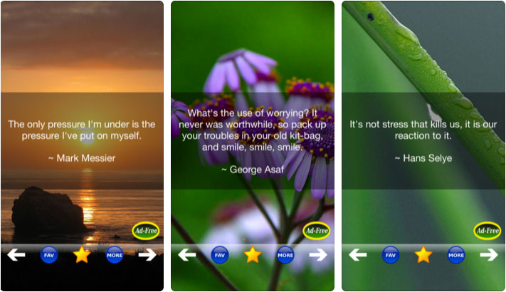Stress Relief & Management App for iPhone and iPad