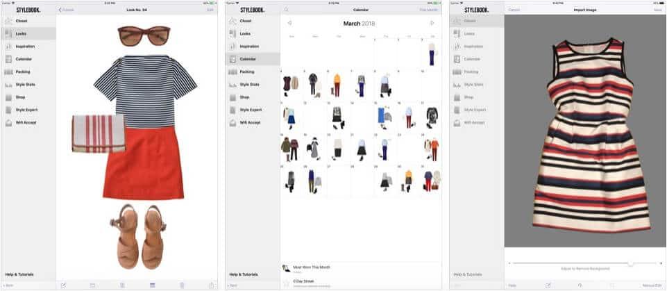 Stylebook Lifestyle Clothing iPad App Screenshot