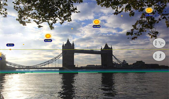 Sun Scout iPhone and iPad App Screenshot