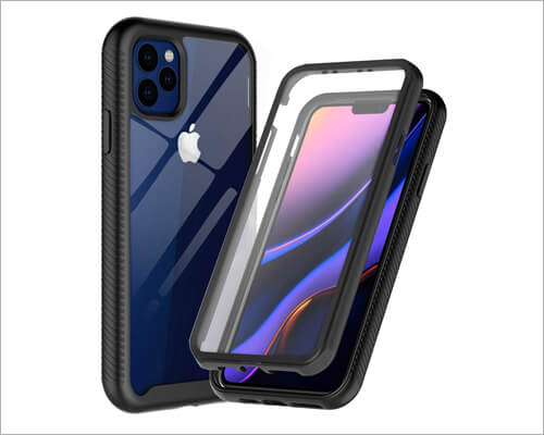 SunRemex Crystal Clear Case for iPhone 11 Pro Max