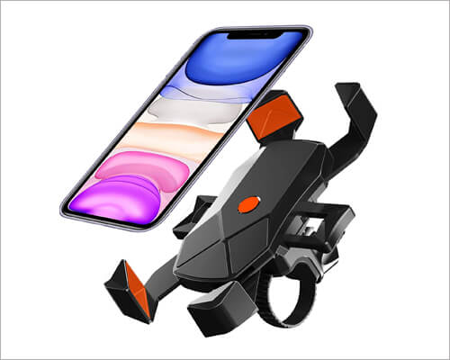 Sunby motorcycle mount for iPhone 11, 11 Pro and 11 Pro Max