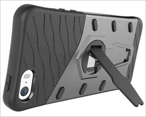 Suntechor iPhone SE Kickstand Case