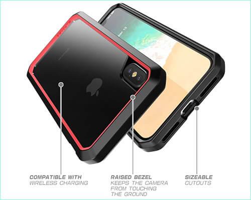 Supcase Unicorn Beetle iPhone Xs Bumper Case