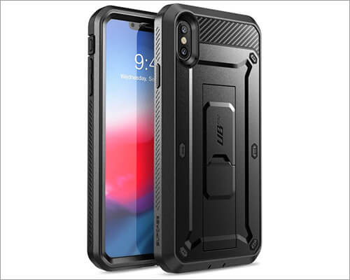 Supcase iPhone Xs Max Belt Clip Case