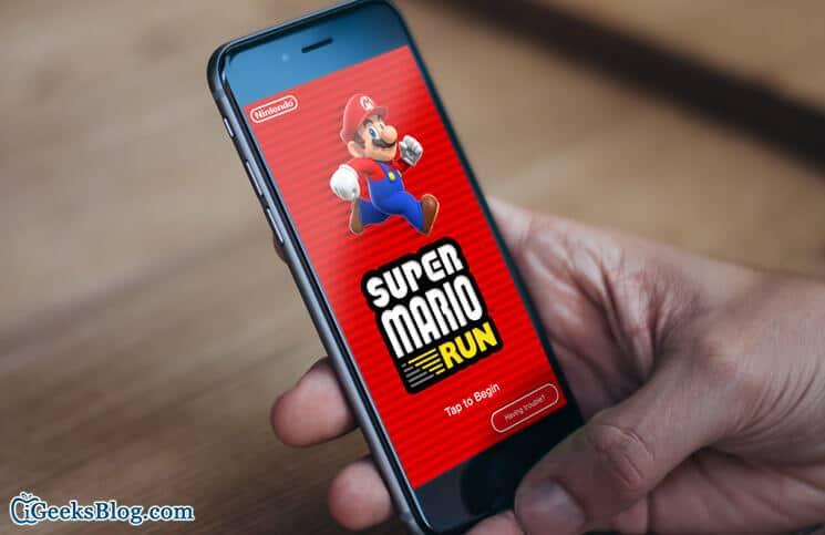Super Mario Run Crashing on iPhone