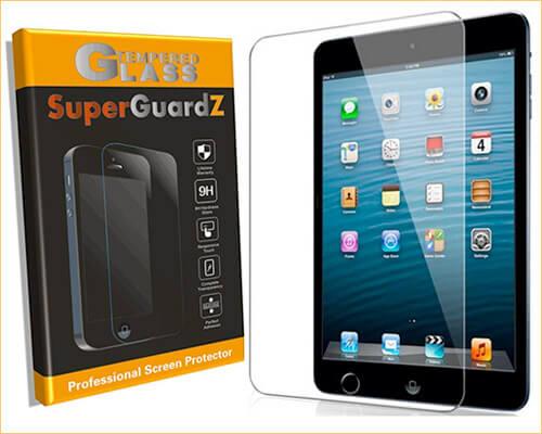 SuperGuardZ iPad Mini 5 Tempered Glass Screen Protector