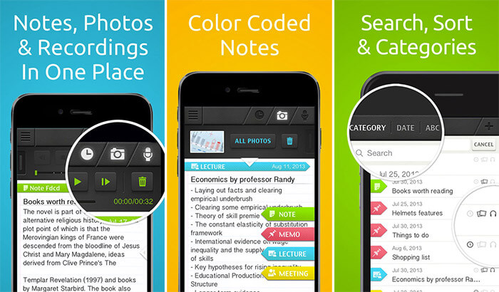 SuperNote iPhone and iPad Note Taking App Screenshot