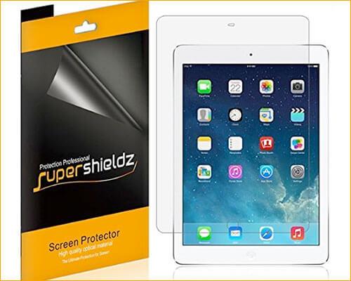 Supershieldz Screen Protector for iPad Air-iPad Air 2