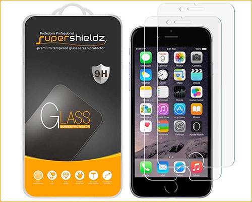 Supershieldz Tempered Glass Screen Protector for iPhone 6-6s Plus