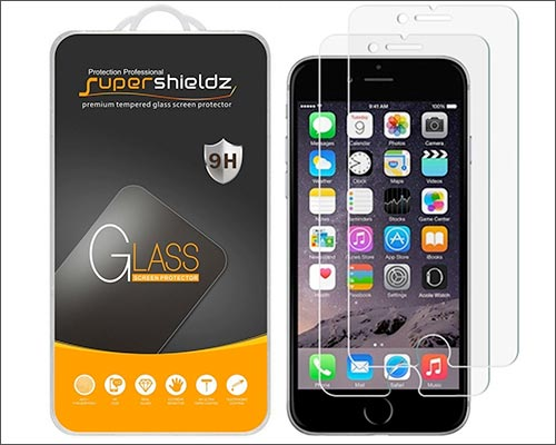 Supershieldz iPhone 6-6s Glass Screen Protector
