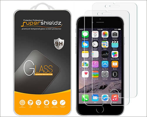 Supershieldz iPhone 6-6s Tempered Glass Screen Protector