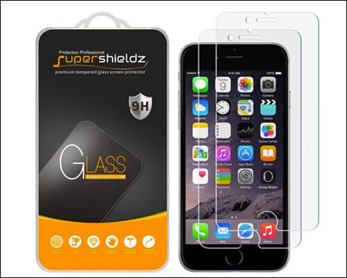 Supershieldz iPhone 6s Plus Tempered Glass Screen Protector