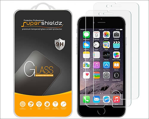 Supershieldz iPhone 6s Tempered Glass Screen Protector