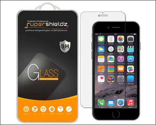 Supershieldz iPhone 7 Plus Tempered Glass Screen Protector