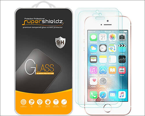 Supershieldz iPhone SE Glass Screen Protector