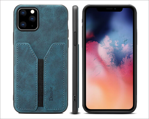 Suteni iPhone 11 Pro Max Wallet Card Holder Case