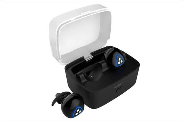 Syllable iPhone 6-6s Plus Bluetooth Earbuds Charger